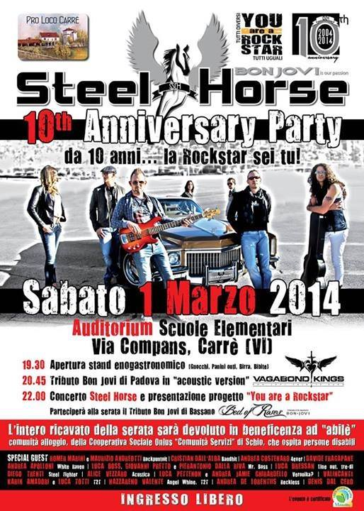 Steel Horse 10 anniversary party