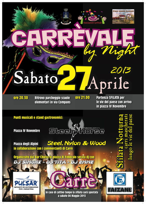 Carrevale by night 2013