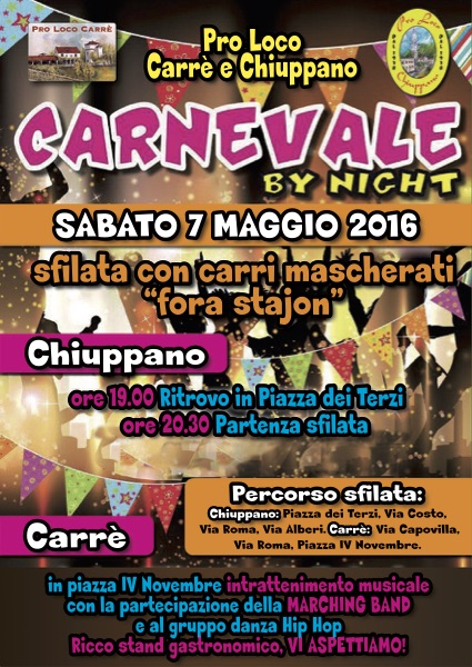 carnevale by night 2016