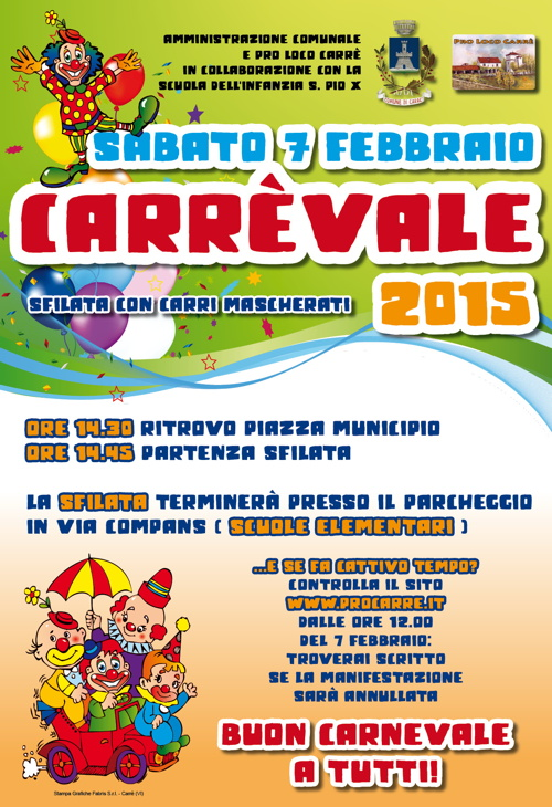 carrevale 2015